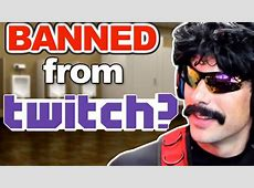 why was dr disrespect banned