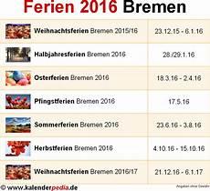 Ferien Bremen 2016 220 Bersicht Der Ferientermine