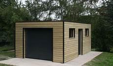Garage Ossature Bois Toit Plat Epdm Garage