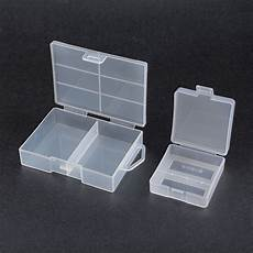 Powerlion B5742 Clear Battery Storage by 2pcs Clear Portable Aaa Battery Storage Box 9v Batteries