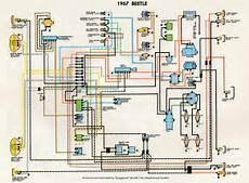 1967 vw bug headlight switch wiring thesamba type 1 wiring diagrams