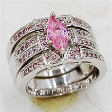 wieck engagement marquise cut pink sapphire