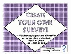 create your own survey collect organize graph and analyze data