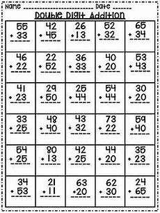 addition worksheet with regrouping for grade 2 9554 2 digit addition and subtraction with and without regrouping worksheets math addition