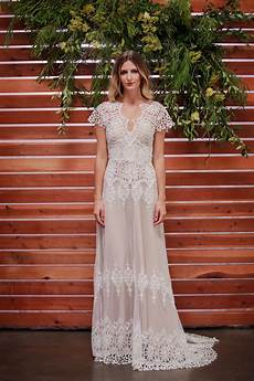 azalea boho cotton lace wedding dress dreamers and lovers