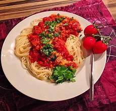 Spaghetti Mit Gemüse - spaghetti mit gem 252 se bolognese chefkoch de