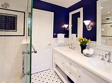 Small Bathroom Ideas Blue And White by 10 Hues For Tiny Bathrooms That Aren T White