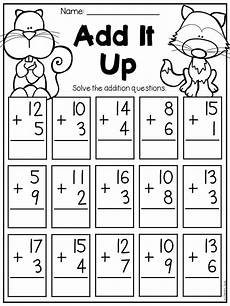 fall math and literacy worksheet first grade 1st