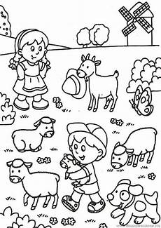 Malvorlagen Bauernhof Ausmalbilder Bauernhof 24 Ausmalbilder Kinder