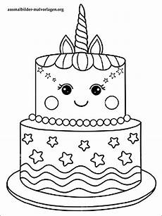Malvorlagen Kinder Torte Torte Zum Ausmalen Malvorlagen