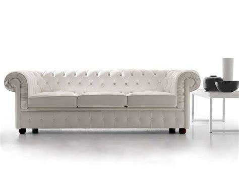 Chester Classic Leather Chesterfield Sofa