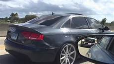 audi a4 b8 vossen wheels st coilovers nolackinautosociety