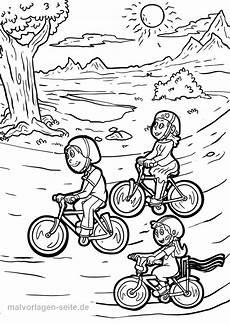 Malvorlagen Keluarga 가족과 함께하는 색칠 공부 자전거 투어