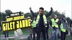 kopp johnson gilet jaune parodie fortnite