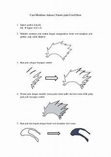 Cara Membuat Animasi Kakashi Pada Corel Draw