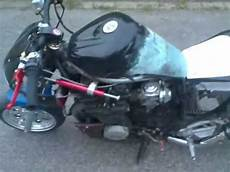 pocket bike xj 600 yamaha tuning burnout mini bike 600cc