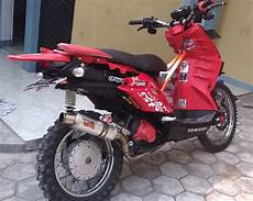 Motor X Ride Modif by Modifikasi Yamaha X Ride Trail Adventure Terbaru