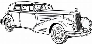 1936 Cadillac Antique Car Coloring Pages  Best Place To Color