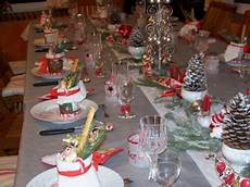 Deco Table De Noel Gris Et Blanc