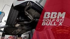 bull x auspuff vw golf gti bull x exhaust by bbm