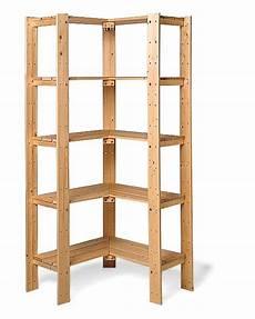 swedish shelving corner unit wooden pantry wood