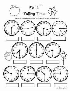 printable worksheets telling time quarter hour 3772 fall telling time to the quarter hour practice worksheet by 4 baers