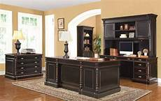 home office furniture stores near me ravenel traditional black amber wood office furniture set