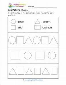 color patterns worksheets 53 color patterns shapes a wellspring