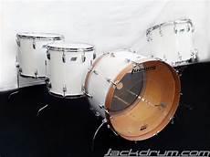 1978 79 Vintage Ludwig Zep Set White Cortex Drum Set