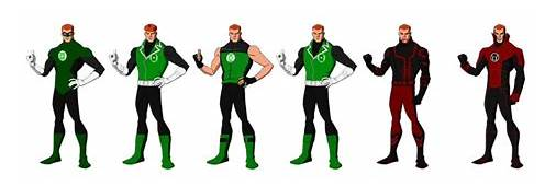 12 Best Images About Fan Art Green Lantern On Pinterest