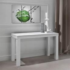 console cucina console table extensible avec pieds en bois massif woolf