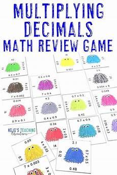 decimals worksheets for highschool students 7163 multiplying decimals activity or worksheet alternative no prep math center math