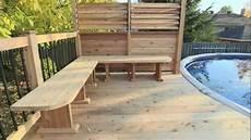 bois pour piscine patio avec piscine brunelle par patios et cl 244 tures