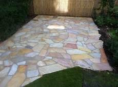 polygonalplatten terrasse garden concepts
