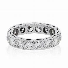 platinum 3 2ctw diamond eternity wedding band