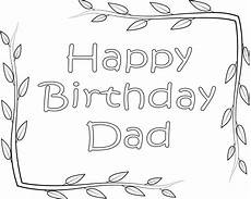 Ausmalbilder Geburtstag Papa Happy Birthday Coloring Pages