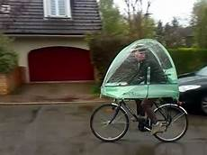 Fahrrad Mit Dach - roofbi regenschutz furs fahrrad