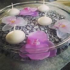 vase bougie flottante d 233 co zen centre de table bougies flottantes