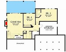 bungalow house plans with walkout basement plan 69661am cute craftsman house plan with walkout