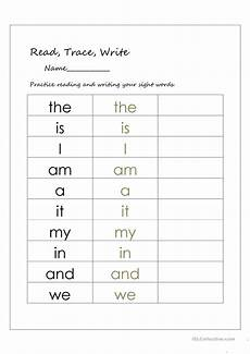 letter d sight word worksheets 24247 read trace and write sight words worksheet free esl printable worksheets made by teachers