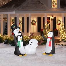 Walmart Decorations Outdoor by Airblown 5 Keep Away Snowman Walmart