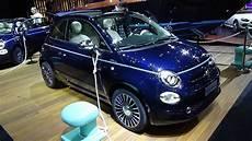 2017 fiat 500 riva convertible exterior and interior