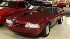 1993 ford mustang 5 0 lx convertible 69 original miles