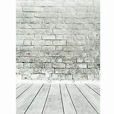 5x7ft White Gray Brick Wall Floor by 5x7ft White Gray Brick Wall Floor Photography Background