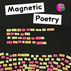 basic poetry worksheets 25244 poetry word magnet basic word templates for writing center poetry activities magnetic poetry