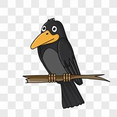 Gambar Kartun Burung Gagak Gambar Kartun
