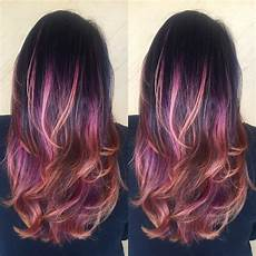 dark brown purple pink peach ombr 233 ask for the enjoy treatment it guarantee longer lasting