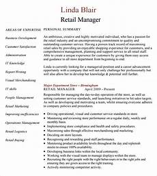 free 8 sle retail resumes in pdf word psd