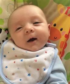 Of 7 Week Baby Who Says Hello Tells Yahoo