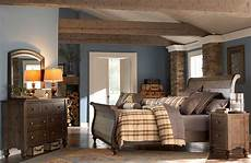Schlafzimmer Pinie Massiv - southern pines solid pine rustic finish sleigh bedroom set